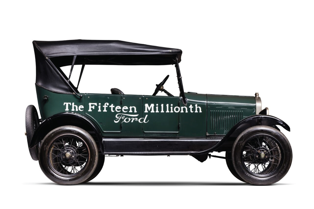 1927 Model T Touring 15 millionth profile
