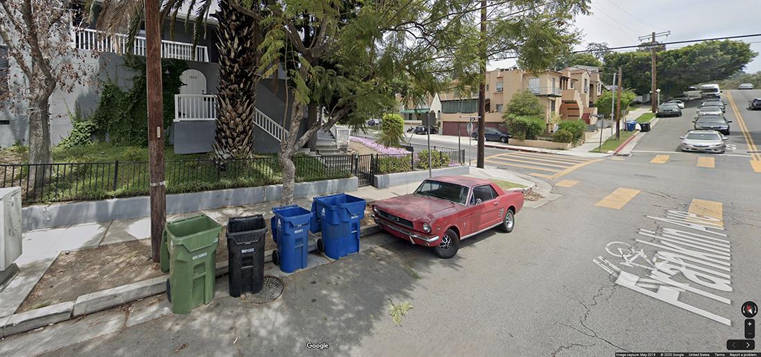 Ford Mustang LA
