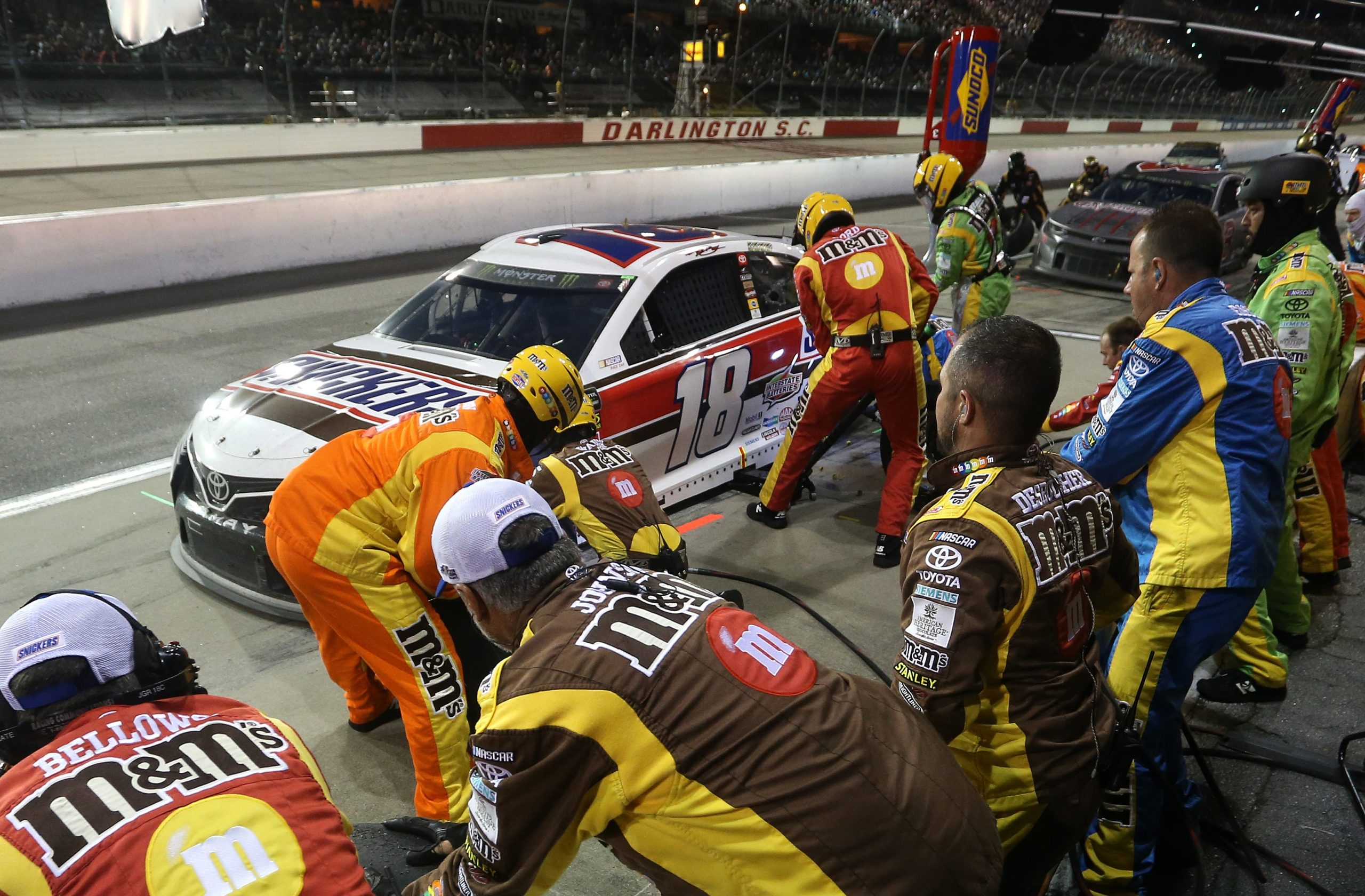 Monster Energy NASCAR Cup Series Bojangles' Southern 500 3