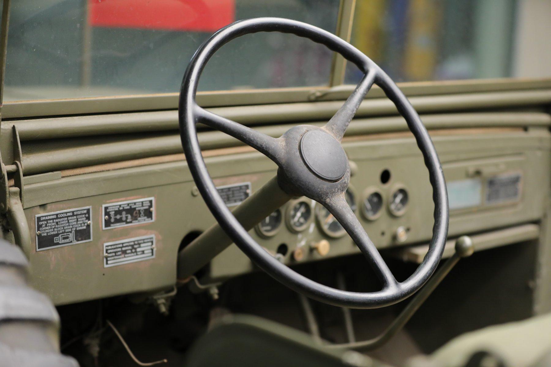 Patton Dodge WC57 command car