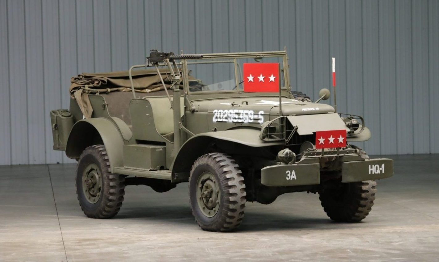 Patton Dodge WC57 command car