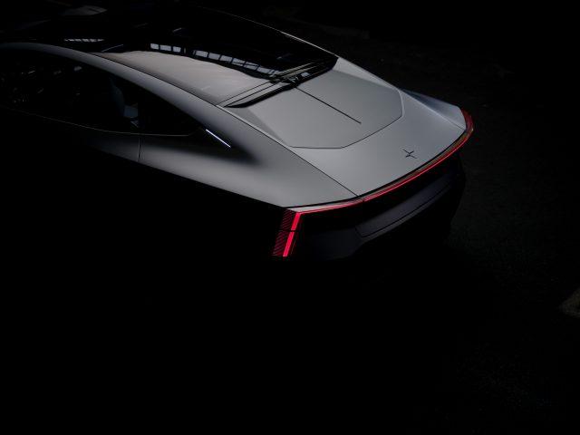 polestar precept dark LED rear