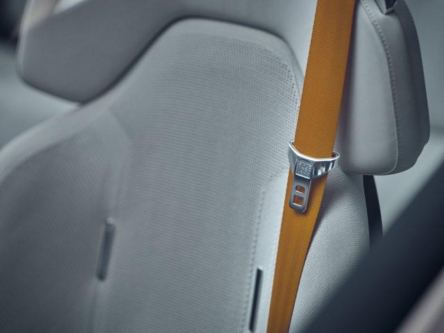 polestar precept seatbelt