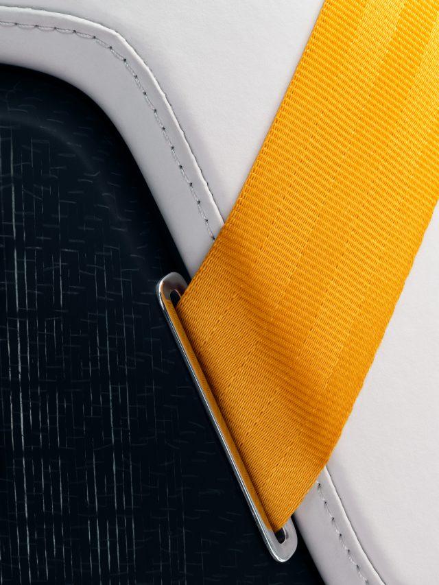 polestar precept seatbelt detail