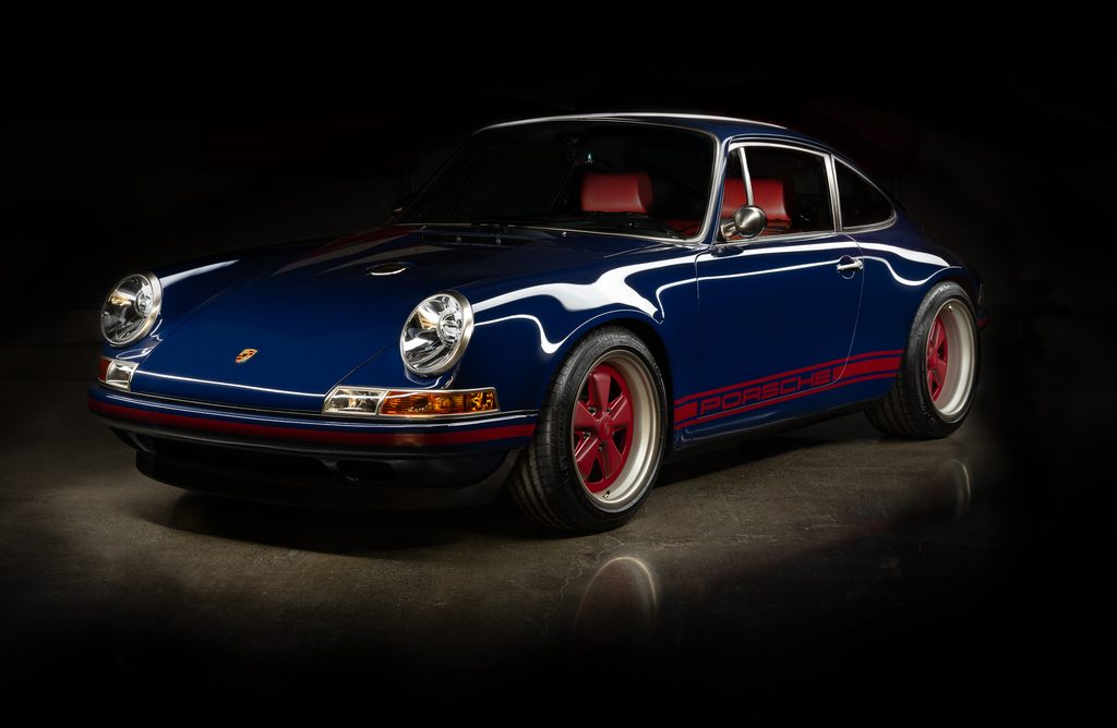 Porsche 911 Reimagined by Singer - full drivers side in shadow