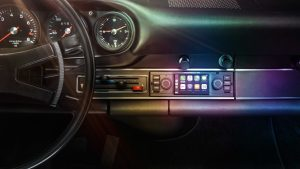 Porsche Classic Single DIN Infotainment Screen
