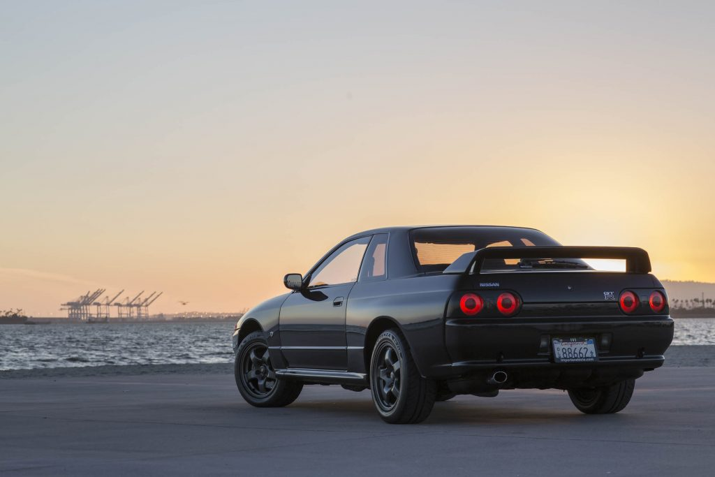 R32 Nissan GT-R toprank 1 rear
