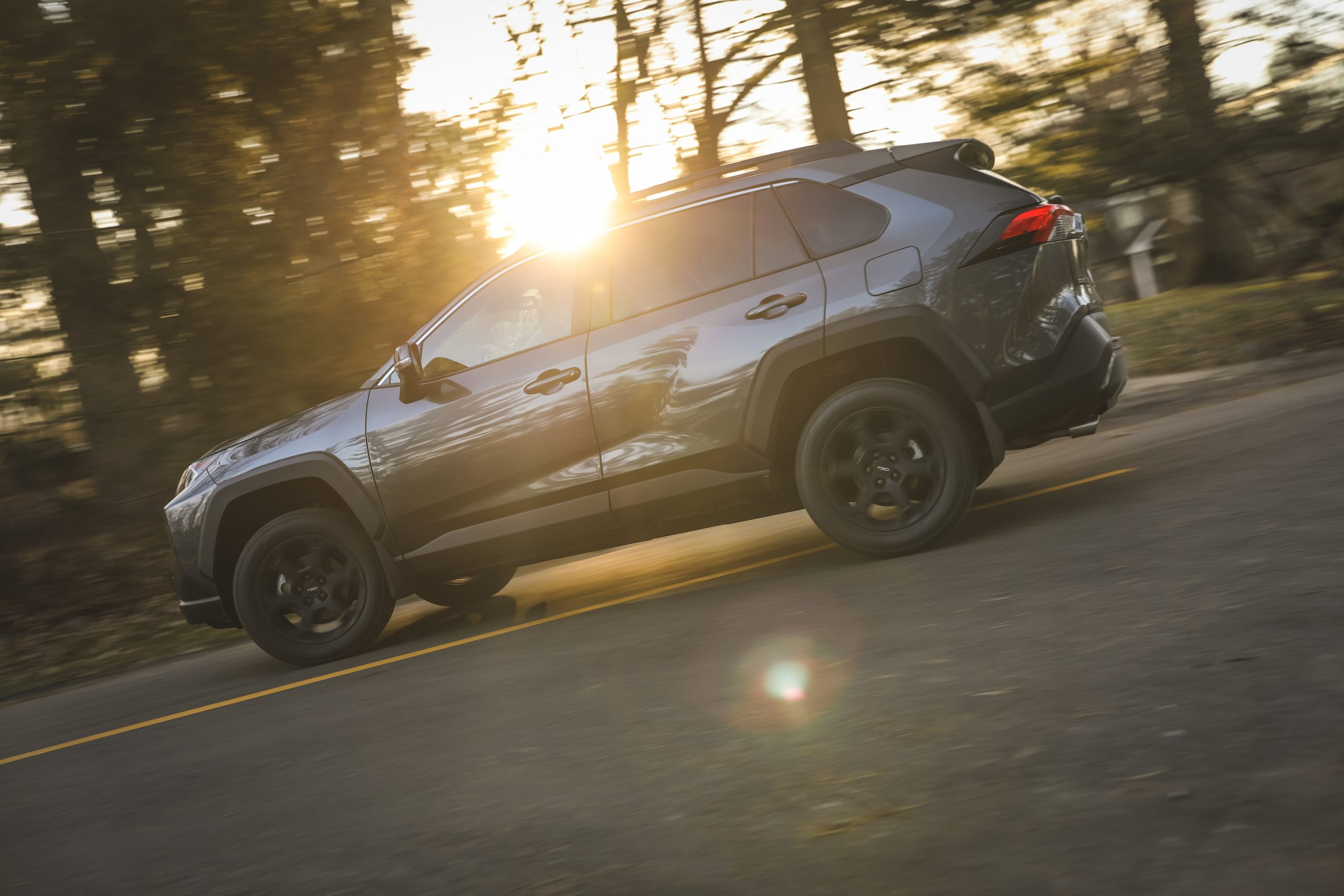 2020 Toyota RAV4 TRD Off-Road SUV drivers side sun