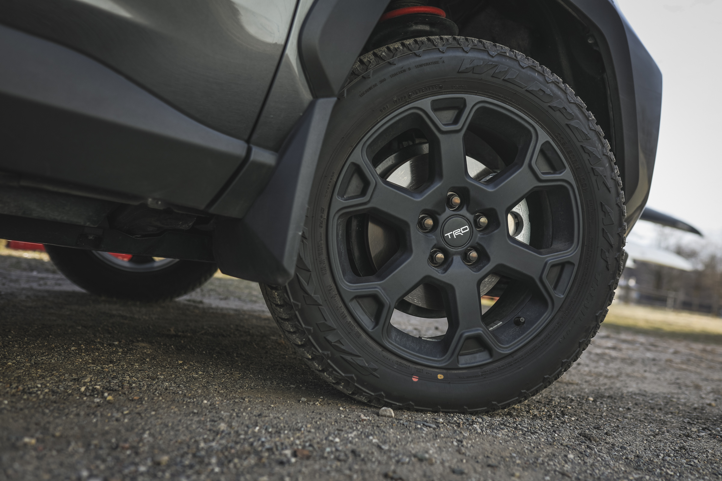 2020 Toyota RAV4 TRD Off-Road SUV full tire wheel front passenger