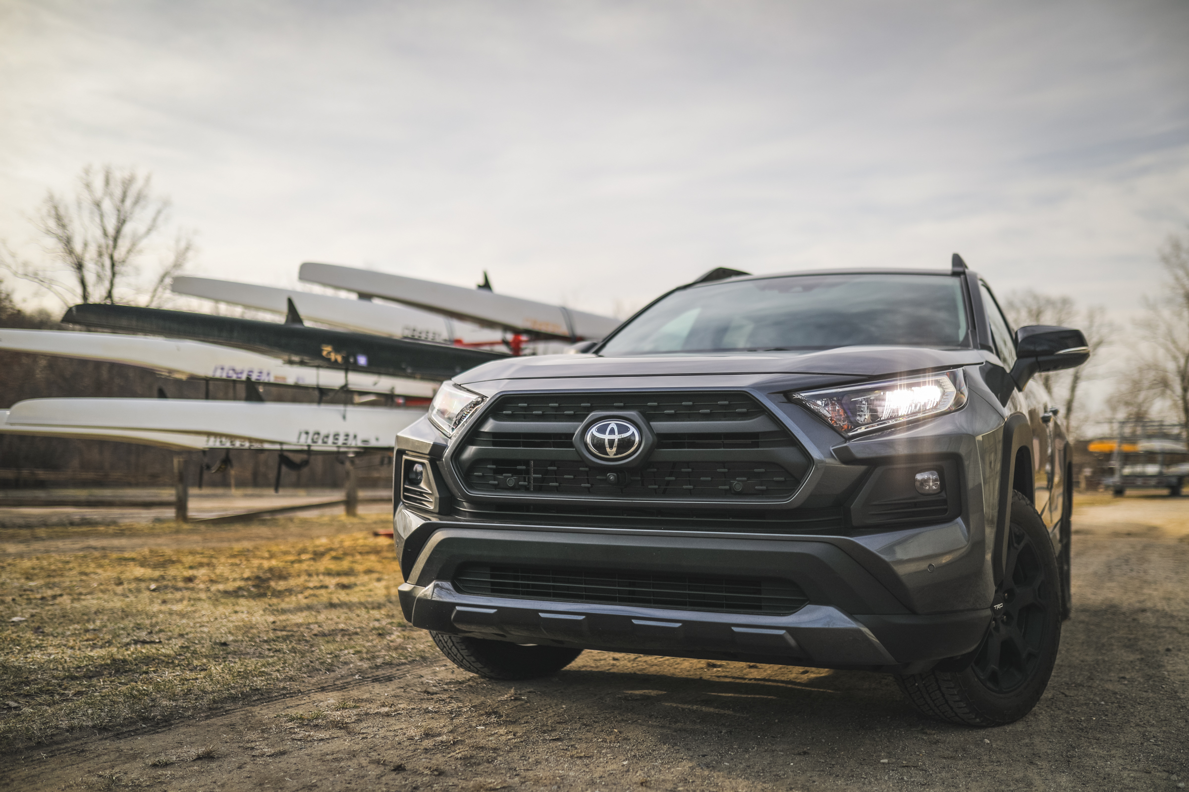 2020 Toyota RAV4 TRD Off-Road SUV full front drivers side