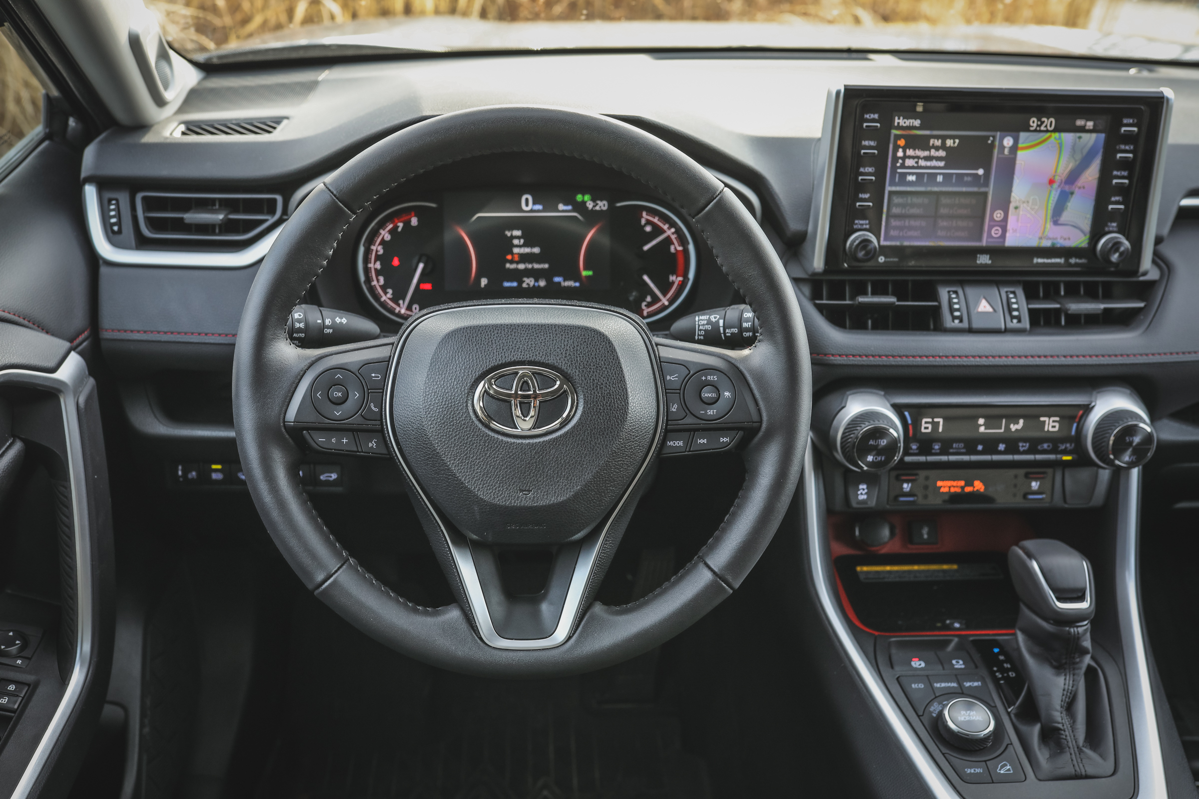 2020 Toyota RAV4 TRD Off-Road SUV steering wheel