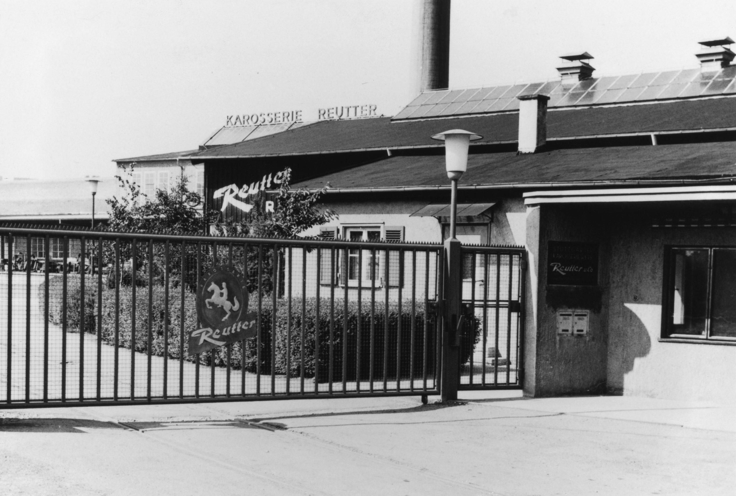 Reutter plant gate entrance