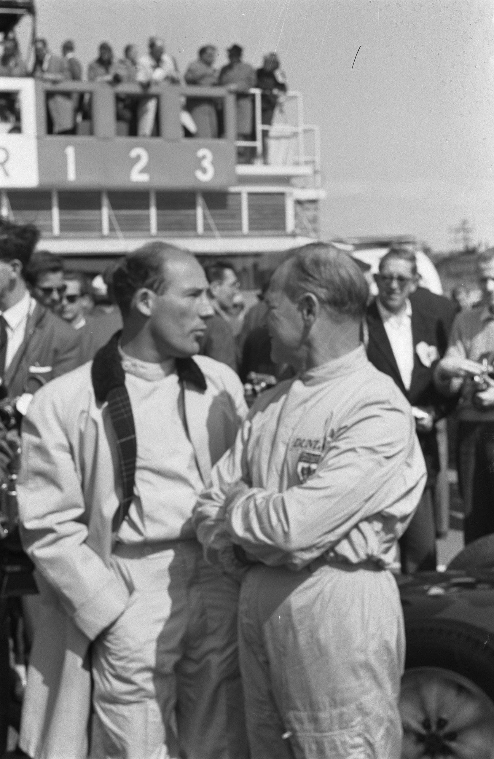 Stirling Moss 1961 grand prix innes ireland
