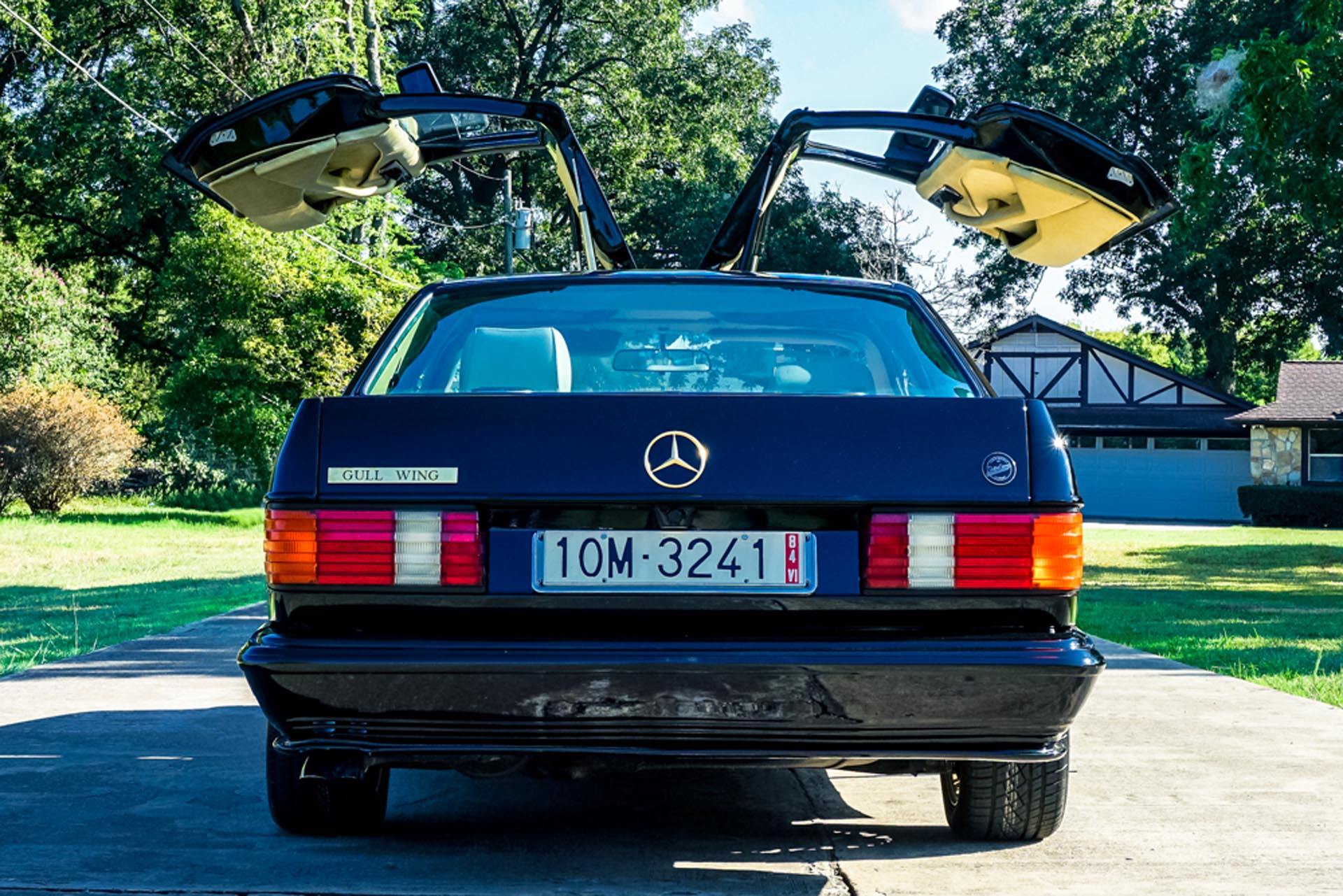Styling Garage SEC1000 Gullwing rear