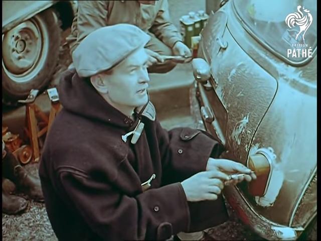 1960 British Pathe Mini Taillight Repair