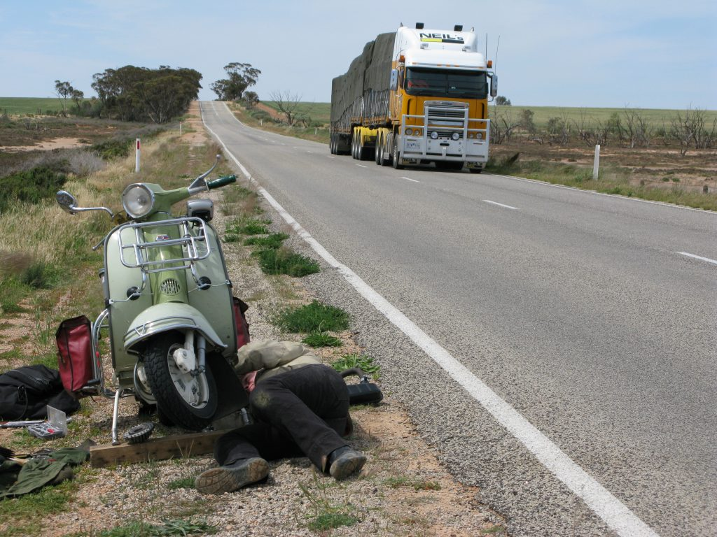 Australian Scooter Road trip fix