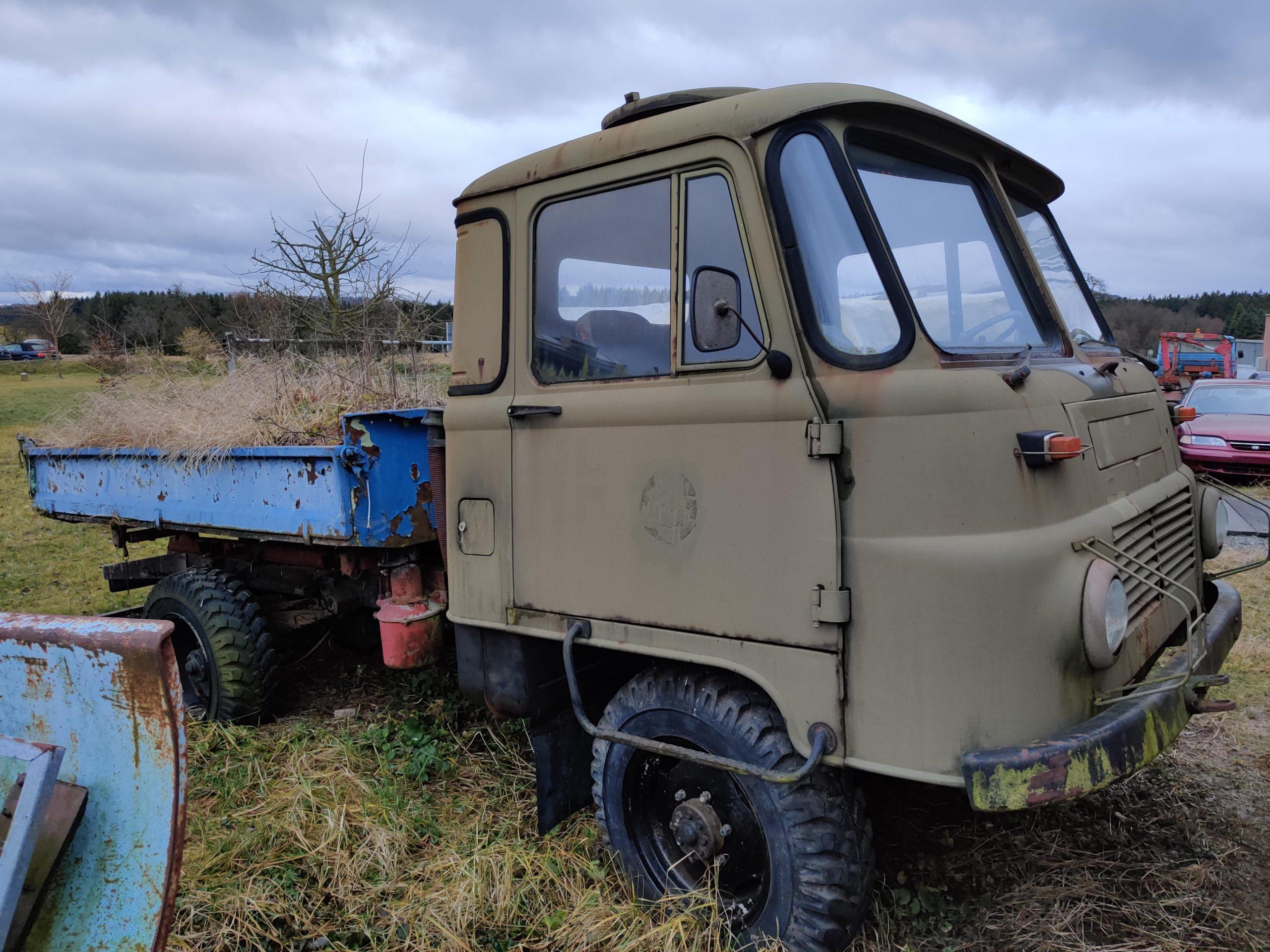 soviet truck yard
