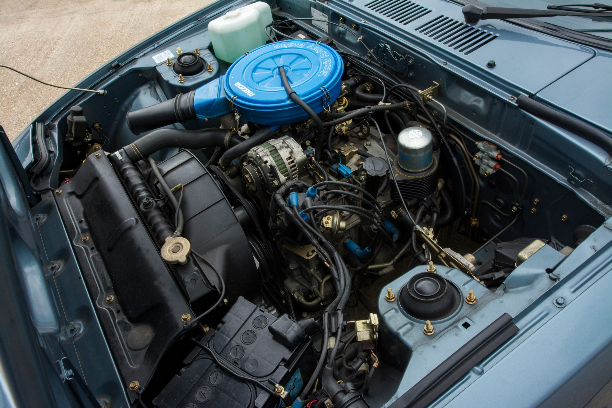 fb first gen mazda rx-7 engine rotary