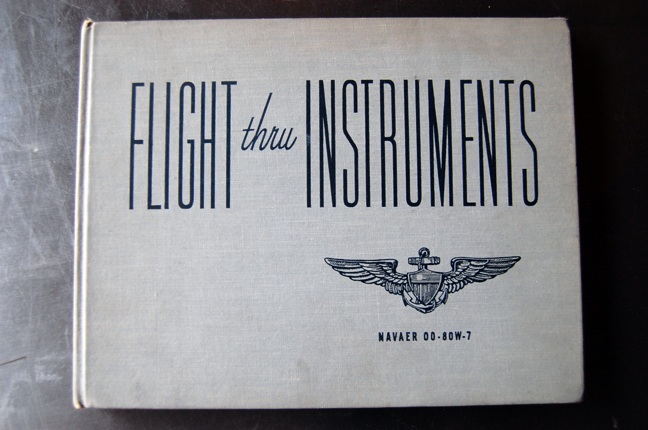 Flight Thru Instruments Manual Front Cover
