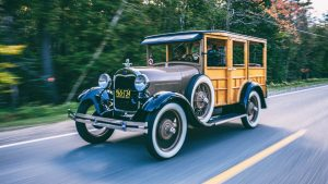 This Ford Model A woody wagon keeps a father's memory alive