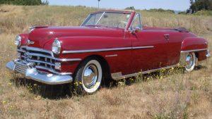 1950 Chrysler Windsor Highlander front three-quarter