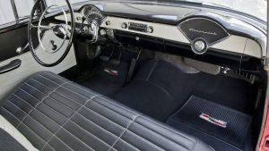 1956 Chevrolet Del Ray Sedan interior