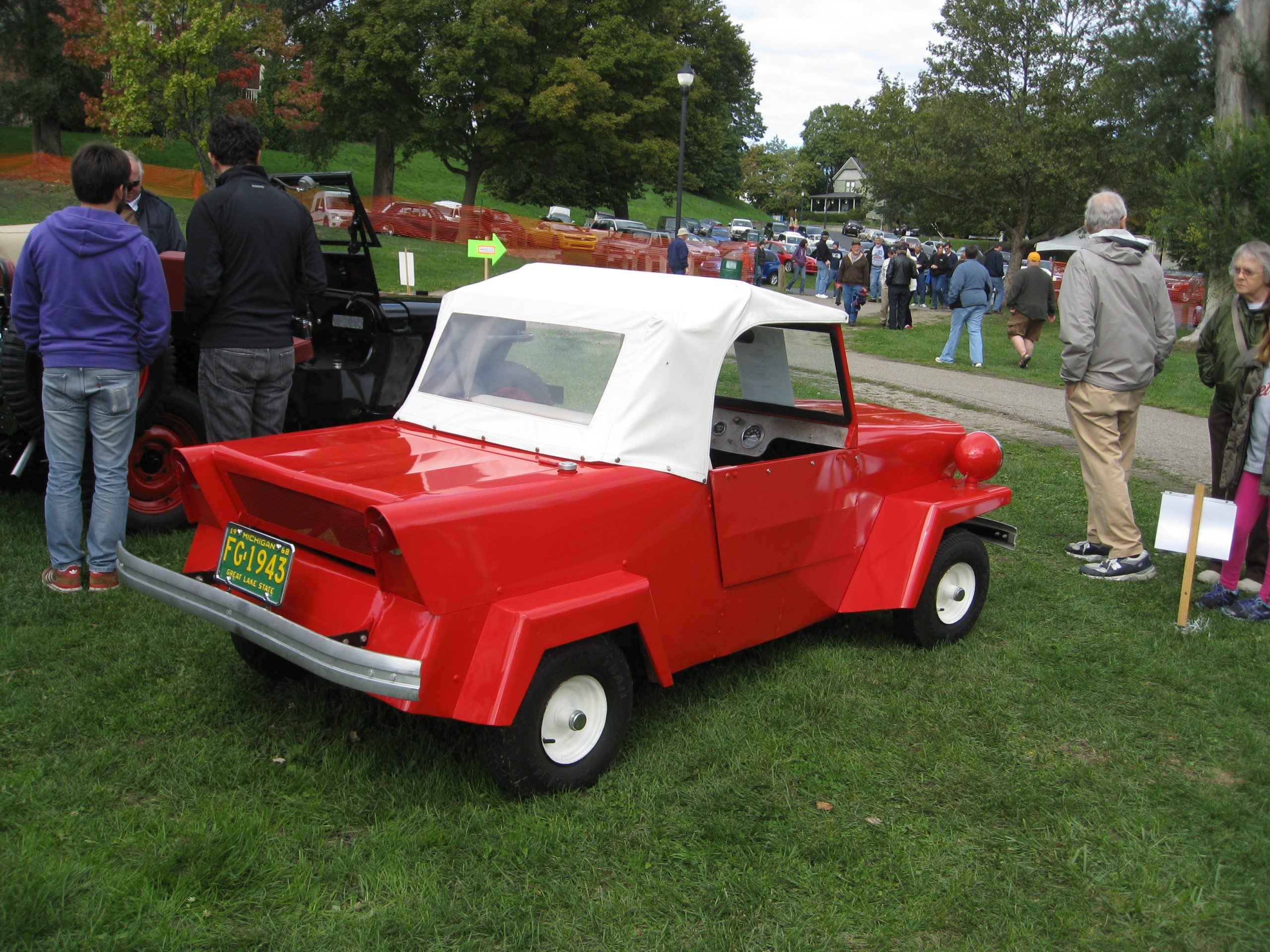 red king midget rear three-quarter