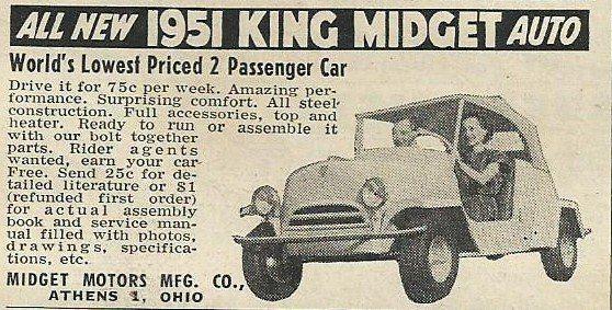 king midget ad