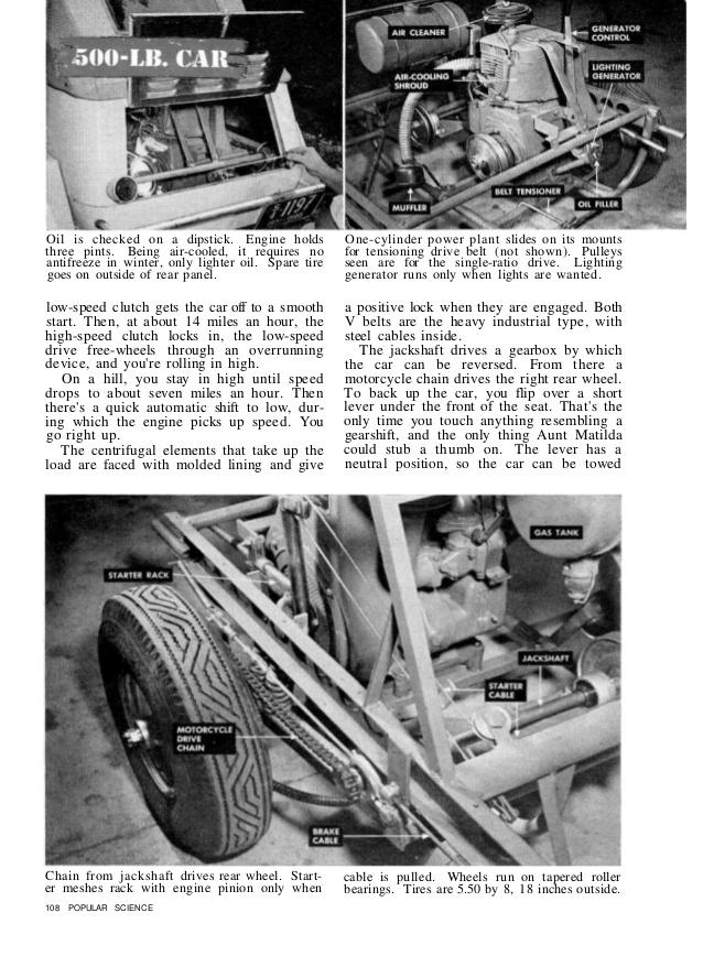 midget motor parts ad