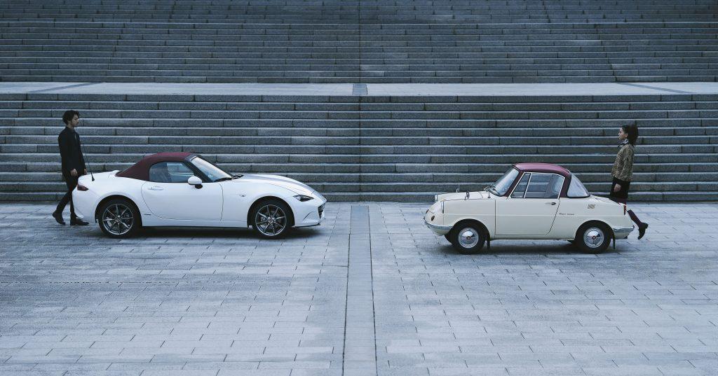Mazda's 100th Anniversary MX-5 and R360