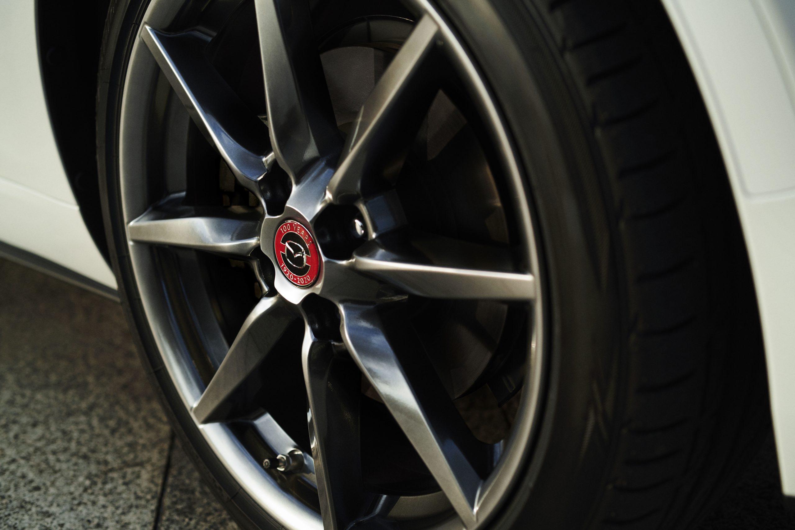 Mazda's 100th Anniversary MX-5 Hubcap