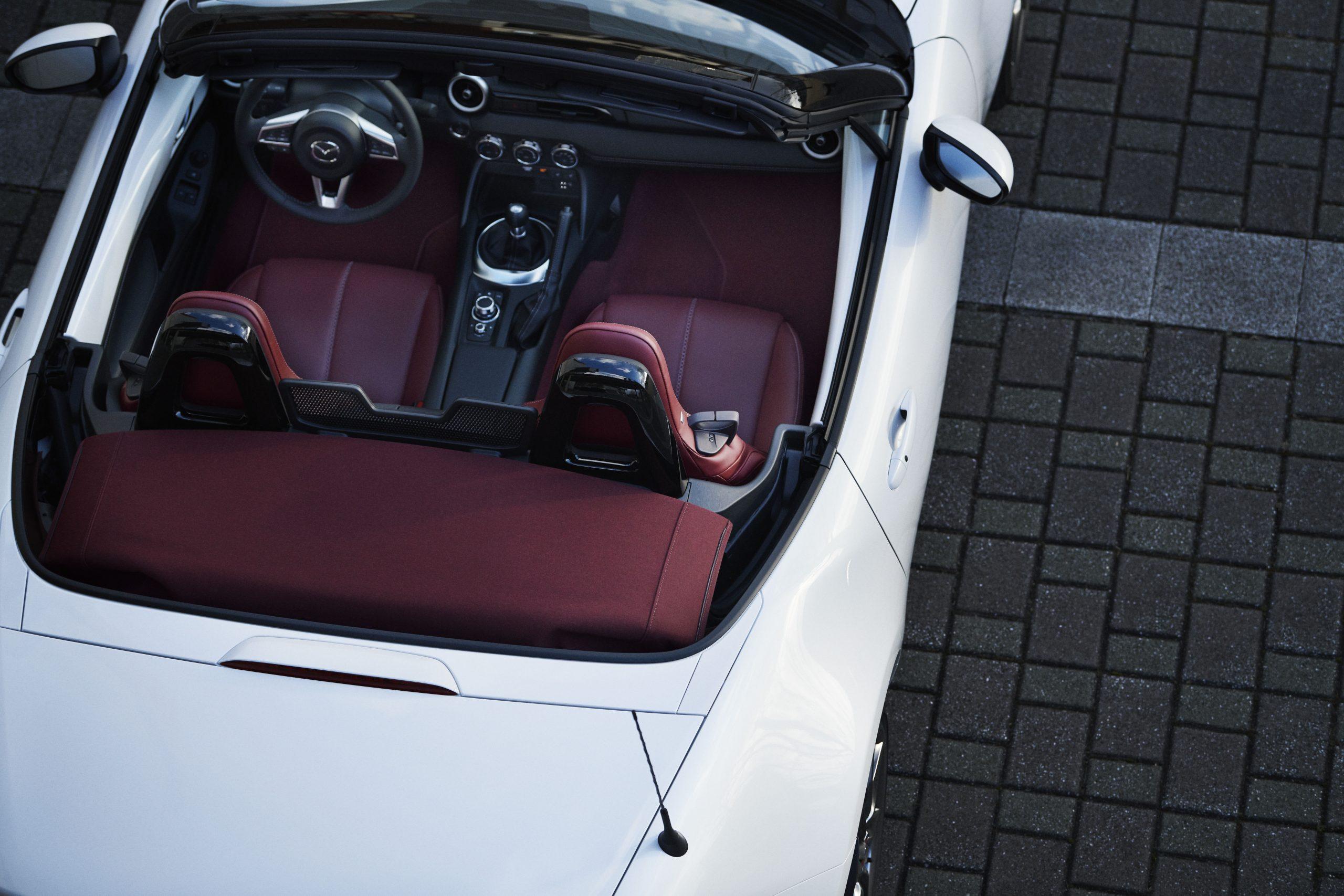 Mazda's 100th Anniversary MX-5 interior