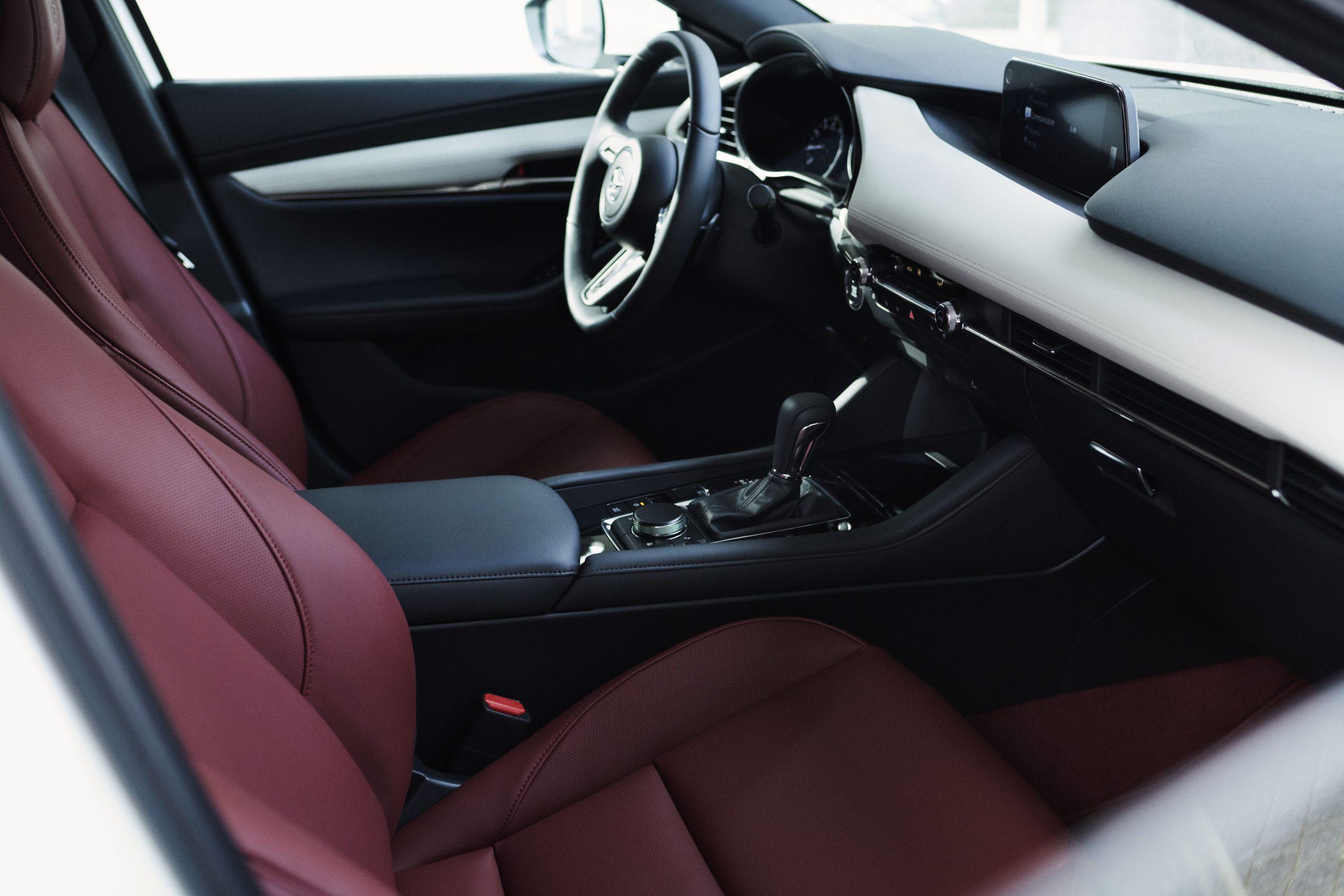 Mazda's 100th Anniversary Mazda3 interior