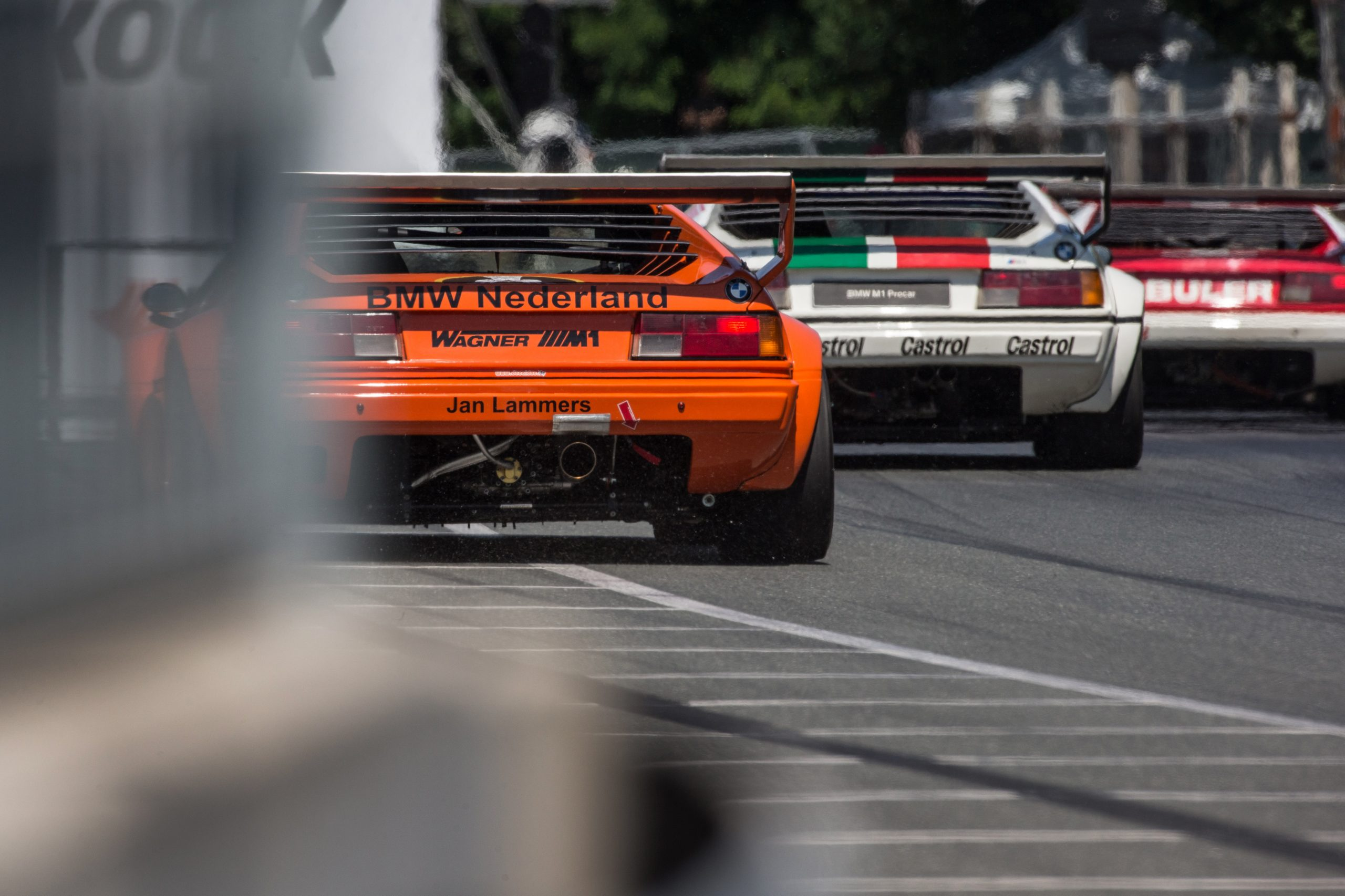 bmw procar three rear m1 action show norisring lammers