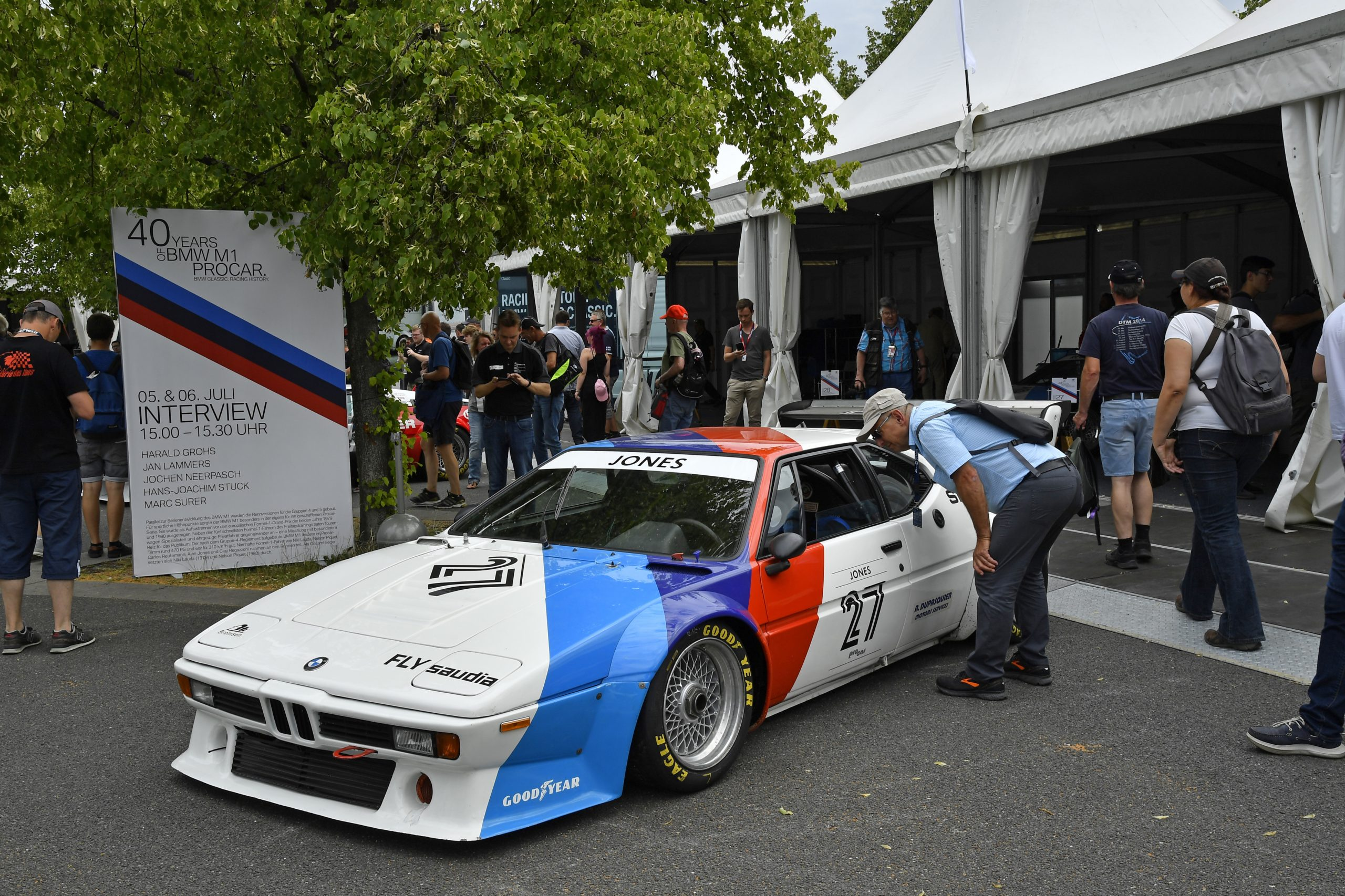 fan bmw m1 procar jones norisring