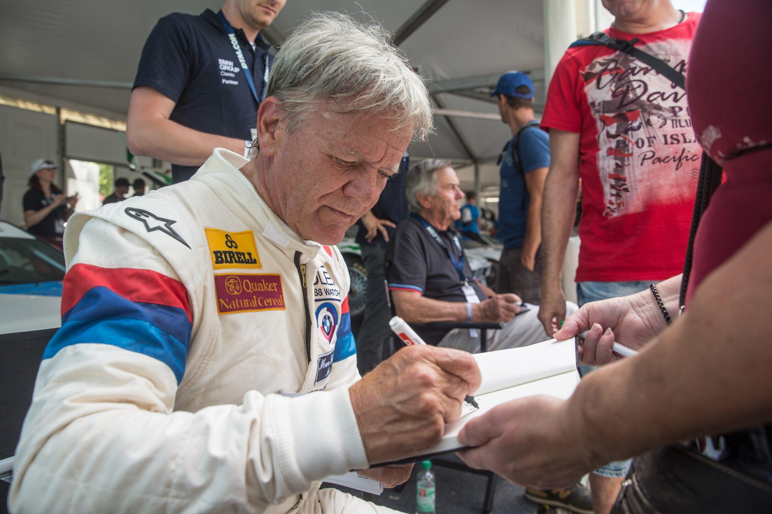 marc surer norisring bmw autograph