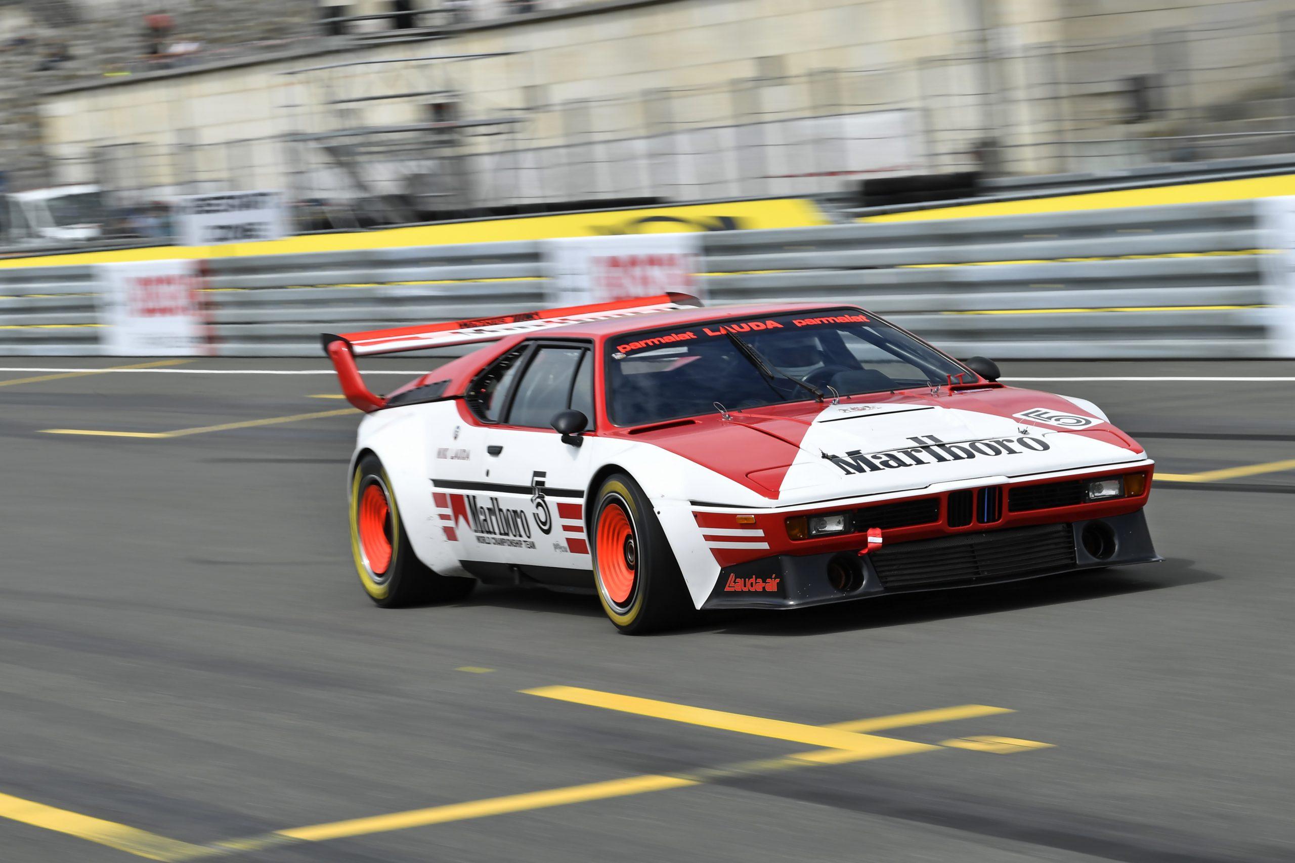 Niki Lauda M1 procar track marlboro