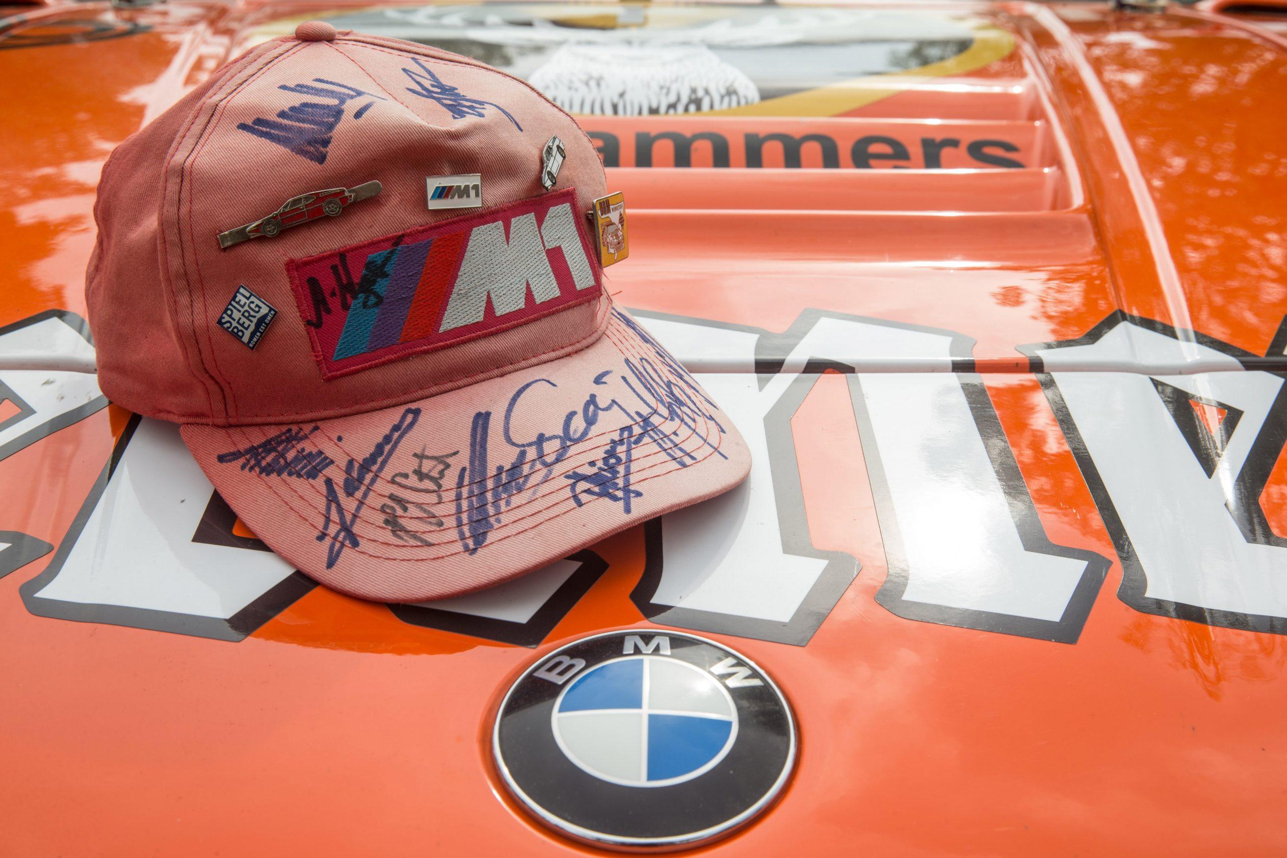 signed cap BMW procar m1