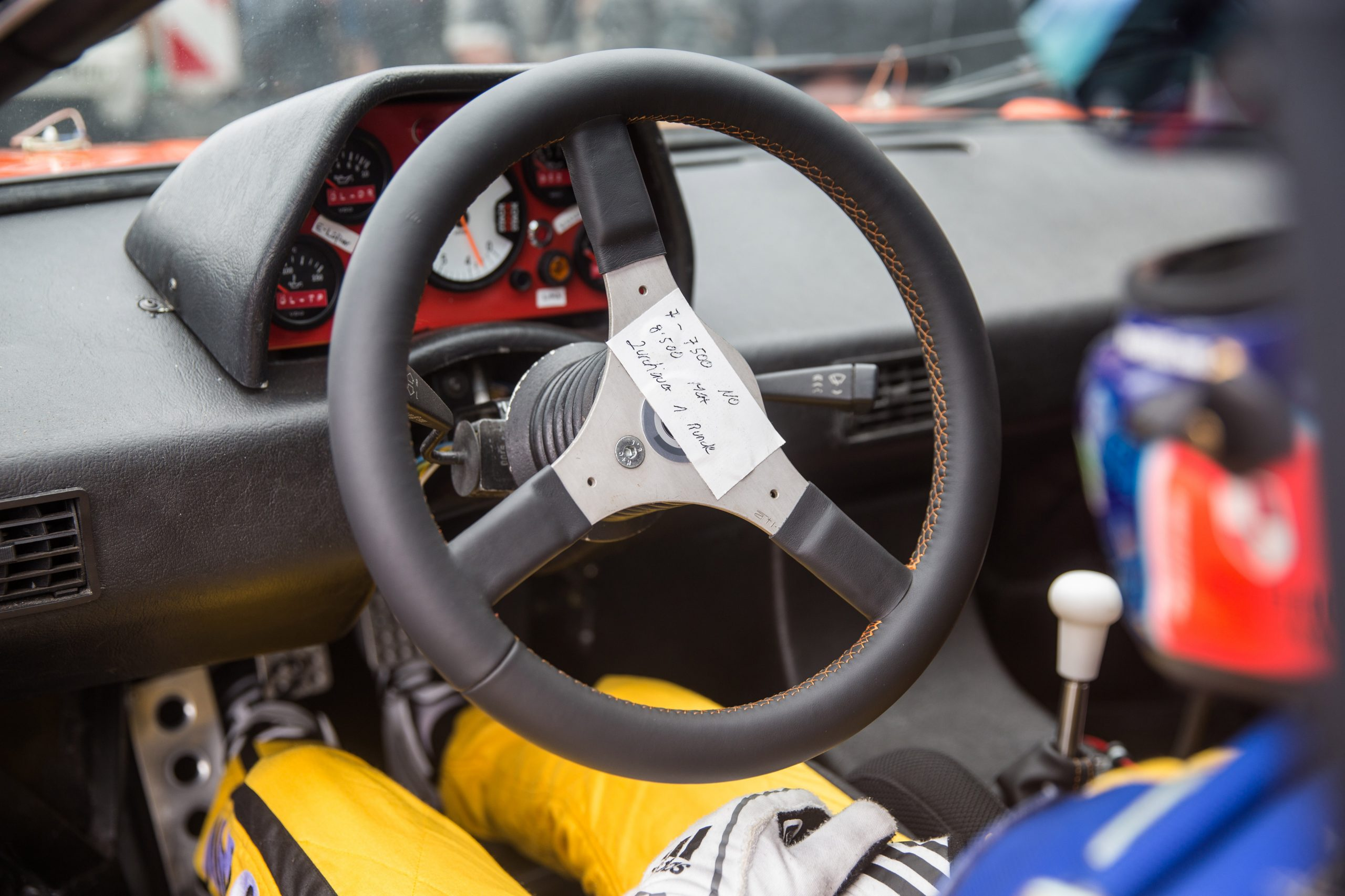 bmw m1 procar interior steering wheel lammers