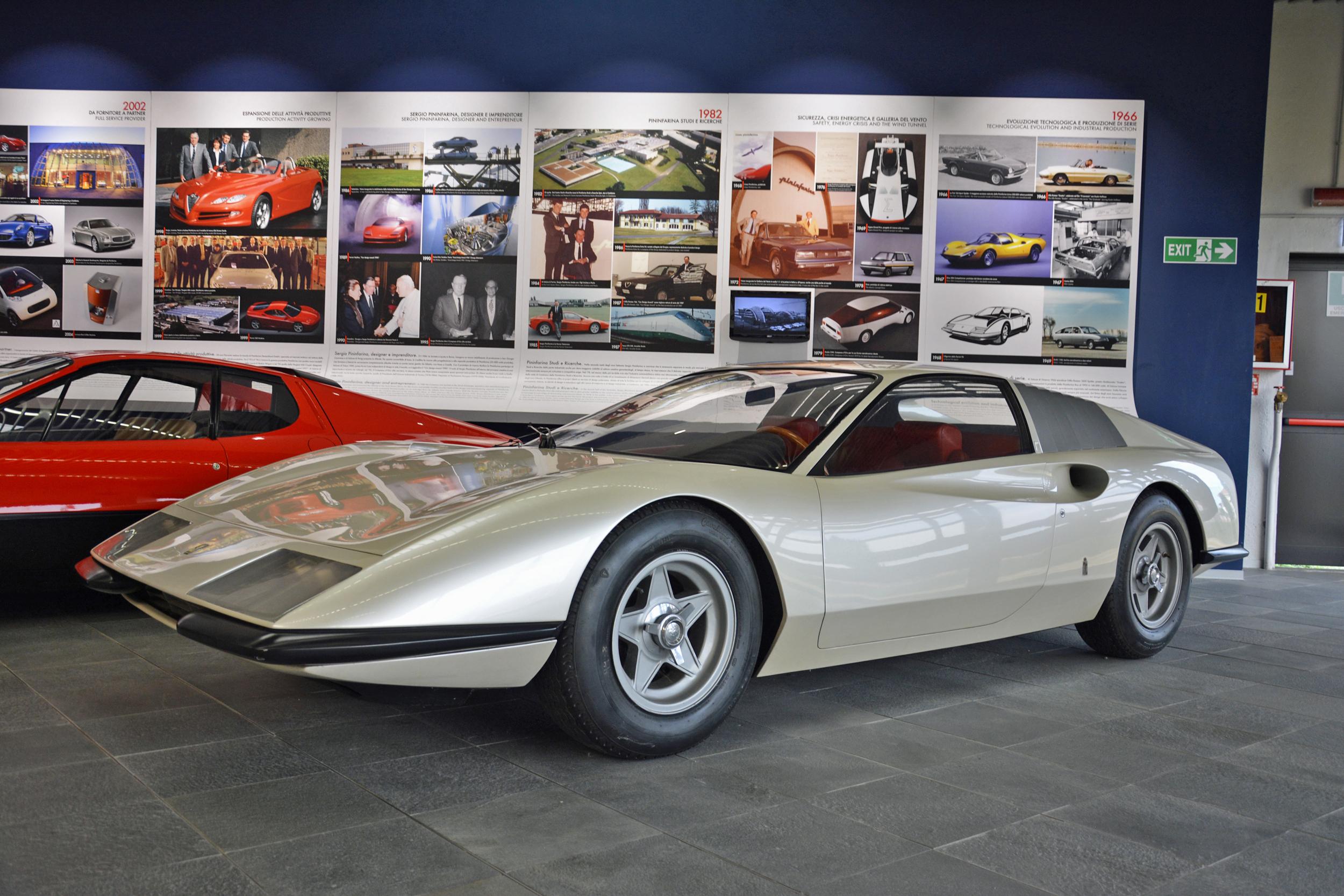 1968 ferrari p6 prototype front three quarter