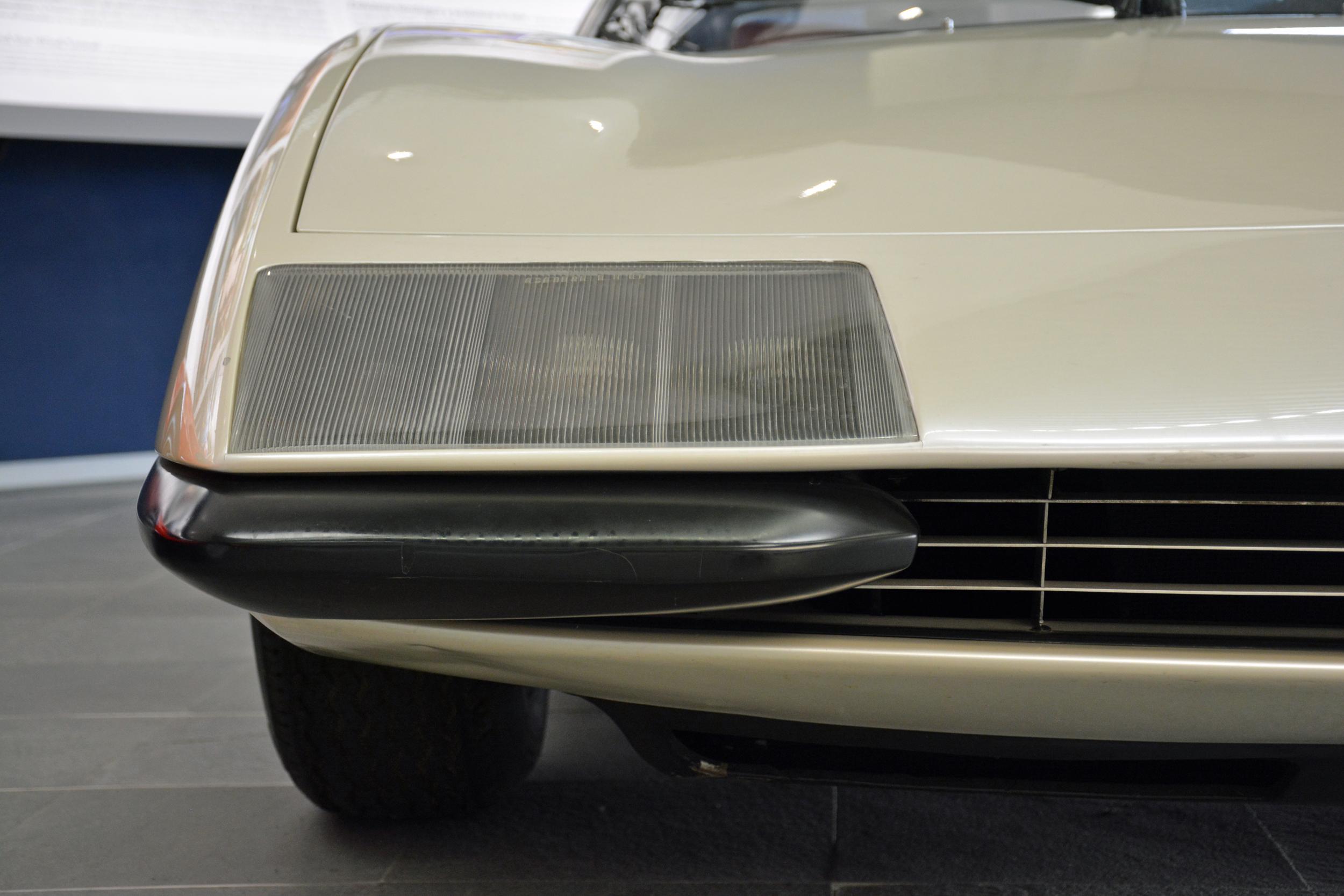 1968 ferrari p6 prototype left headlight