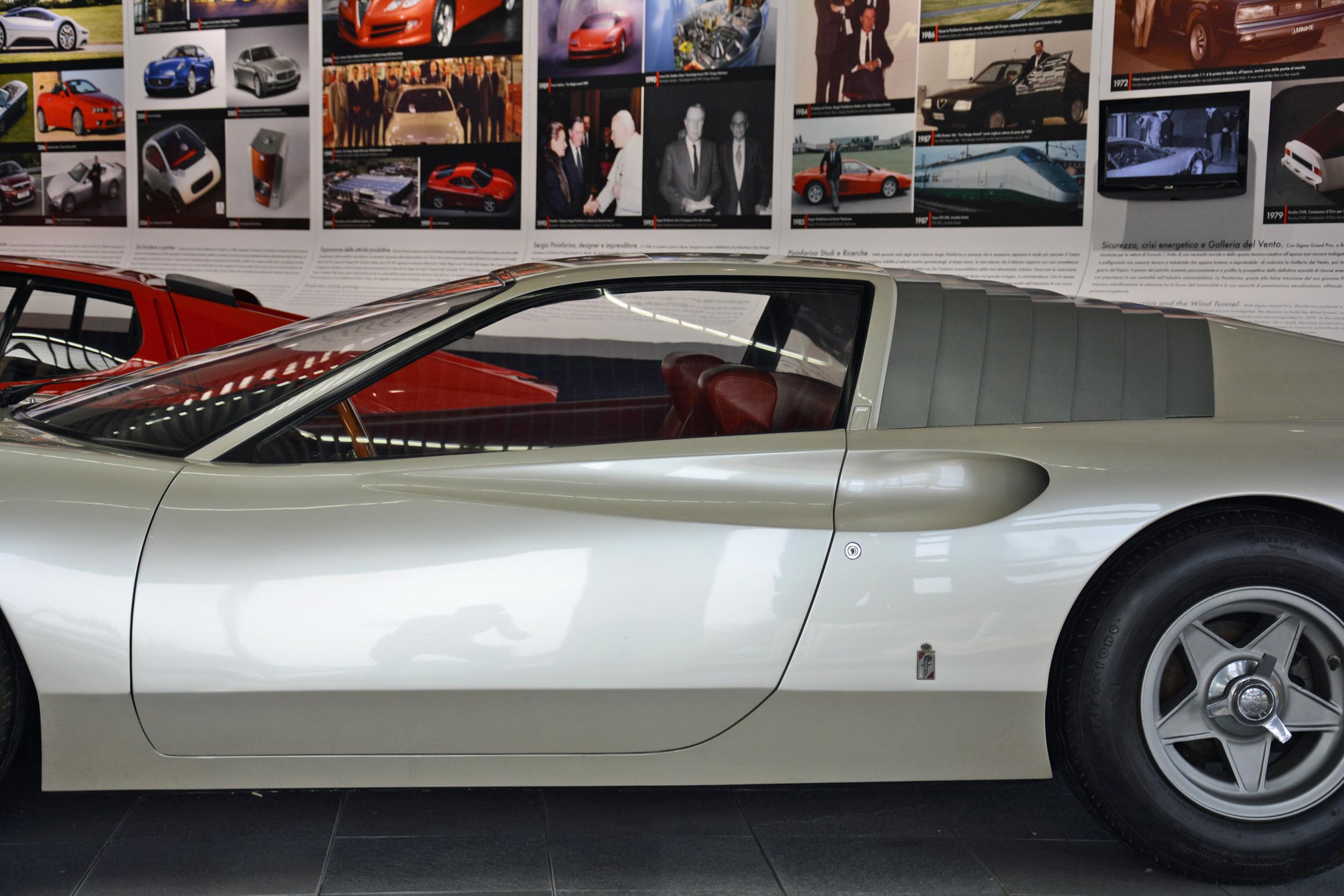 1968 ferrari p6 prototype drivers door