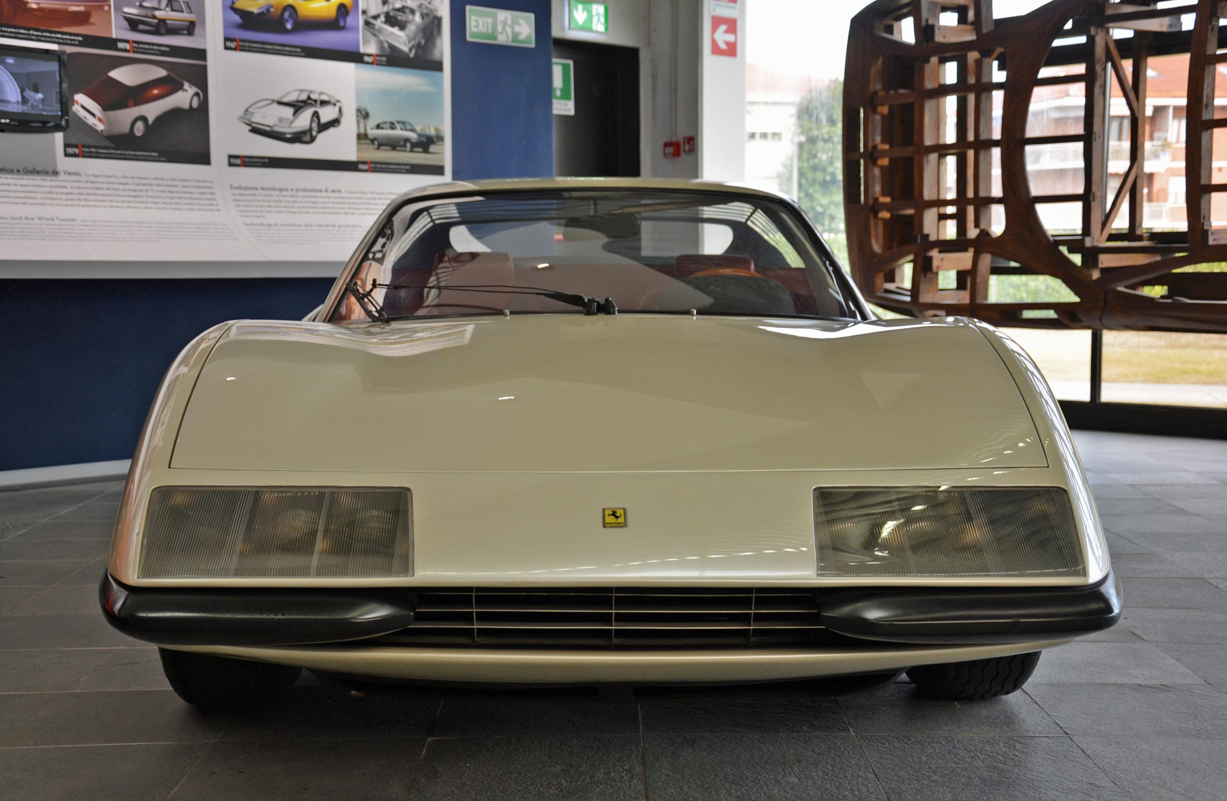 1968 ferrari p6 prototype head on