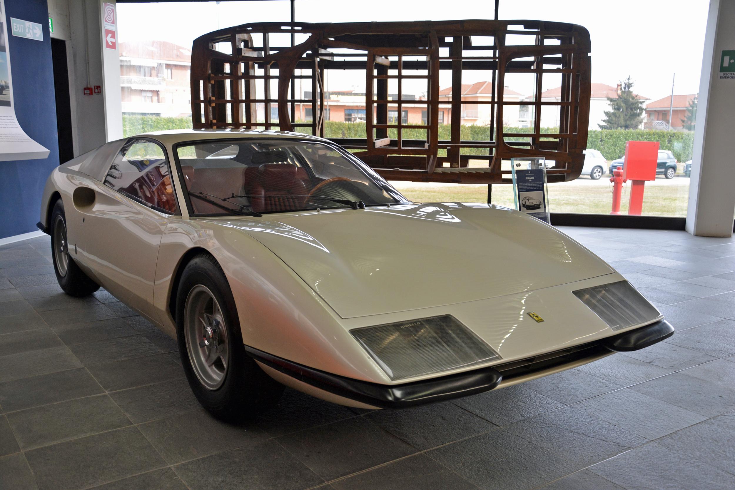 1968 ferrari p6 prototype front three quarter passenger