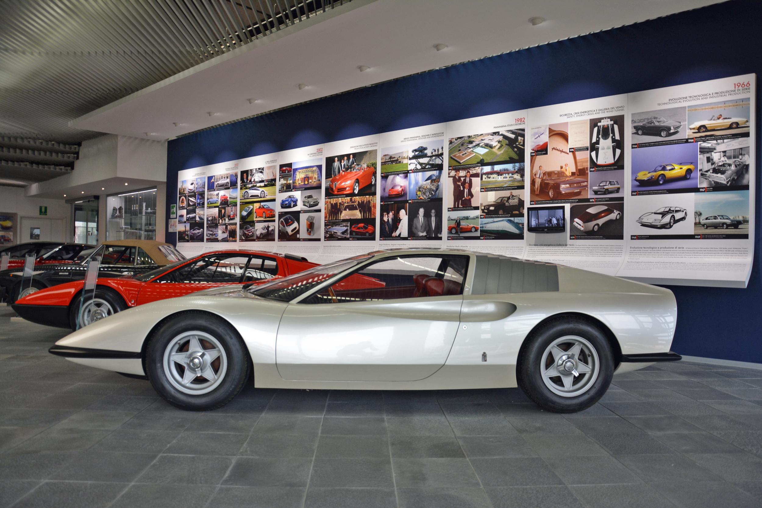 1968 ferrari p6 prototype driver side profile