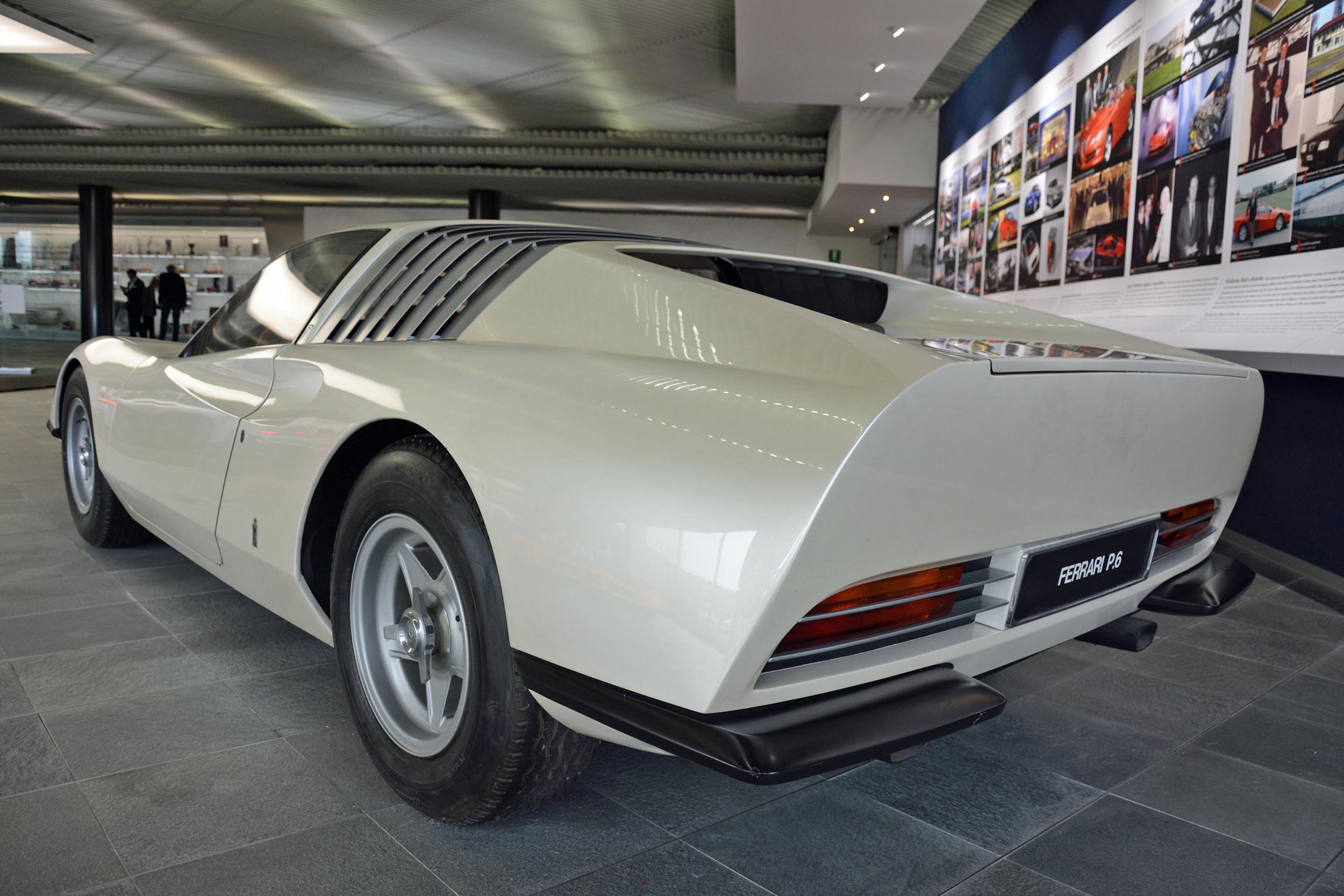 1968 ferrari p6 prototype left rear three quarter