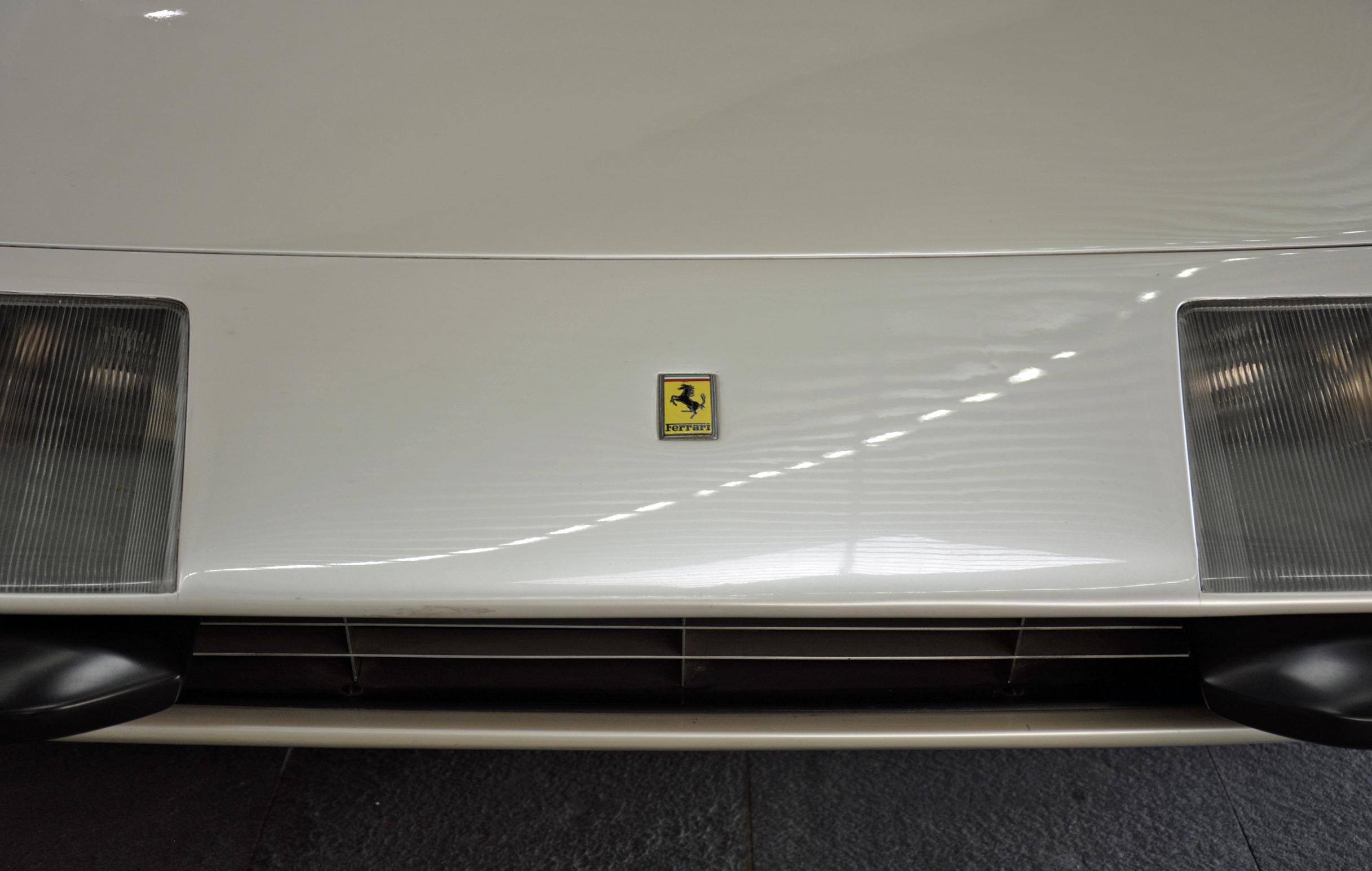 1968 ferrari p6 prototype hood logo