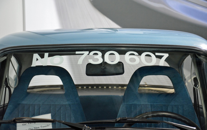 saab museum 96 windshield
