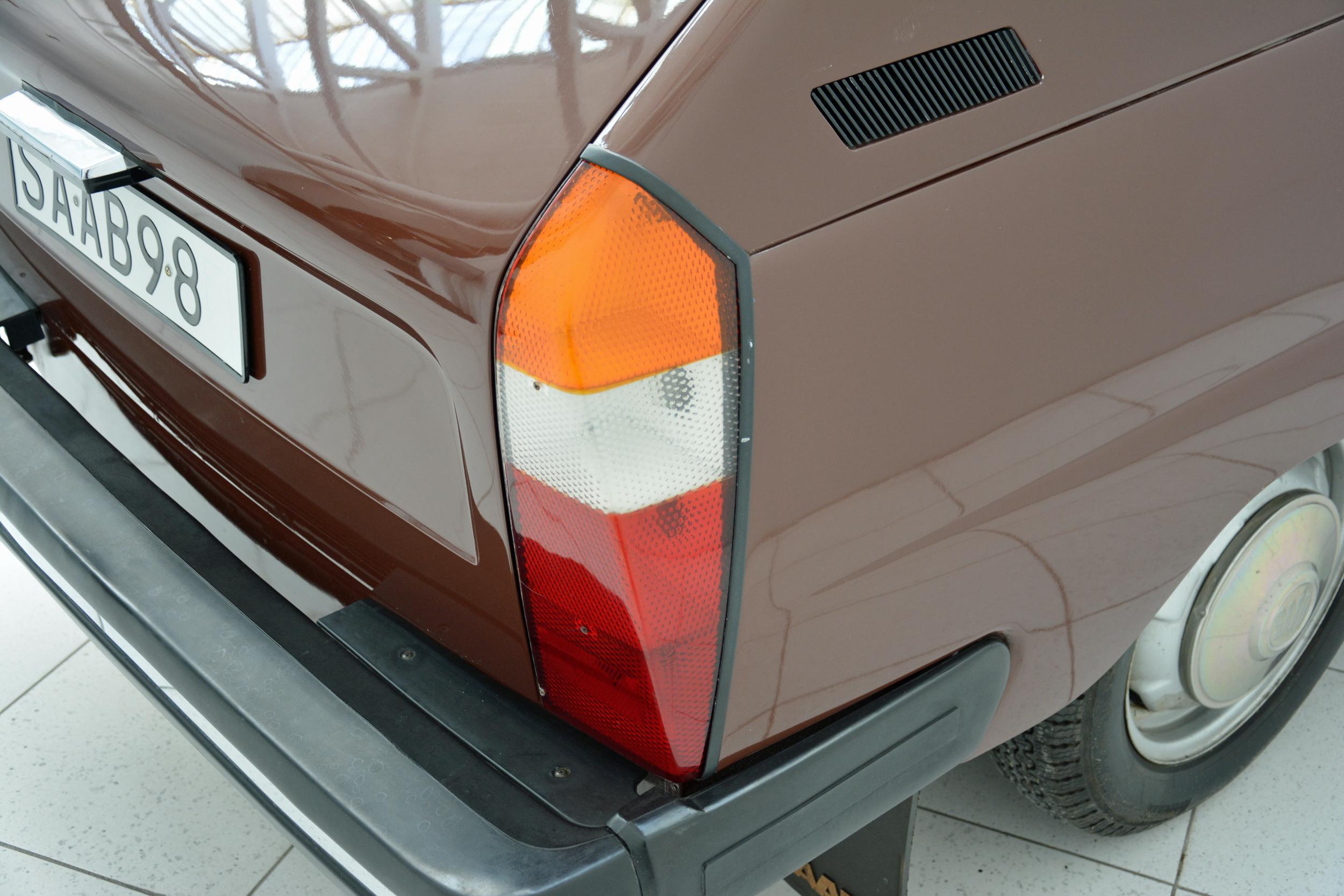 saab museum 98 prototype taillight