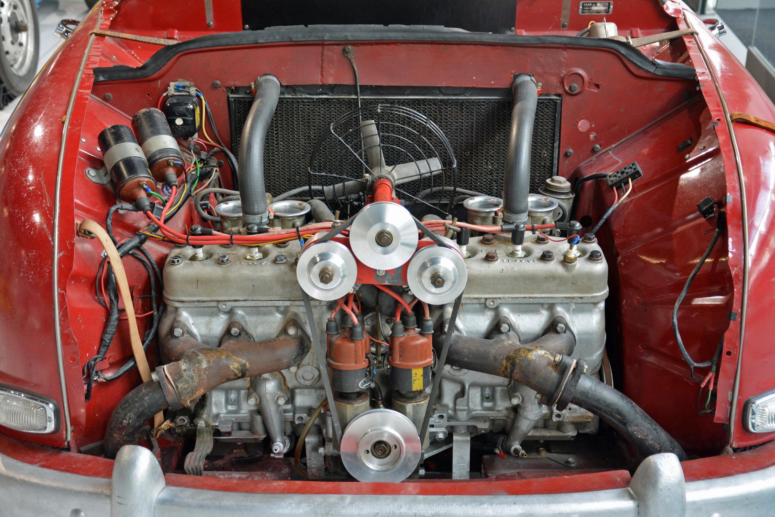 Saab museum monster 93 engine